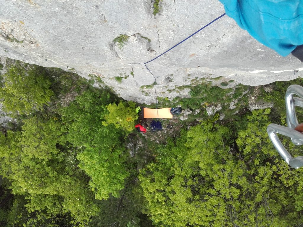 Climbing on Tampa