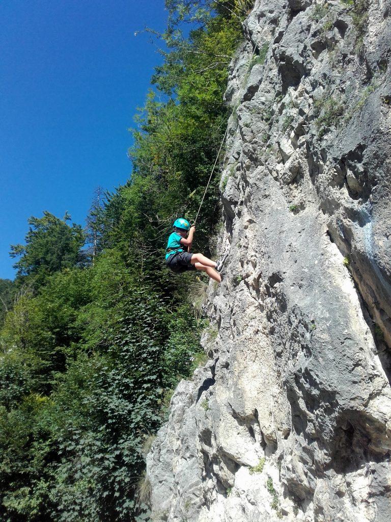 Start to climb