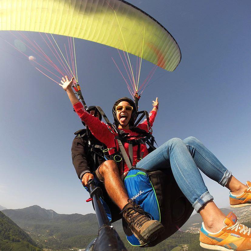 Tanfem flying