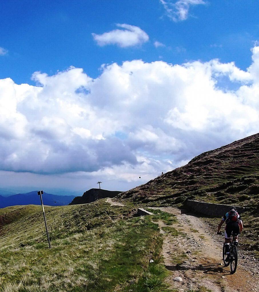 The Bucegi Mountains by bike