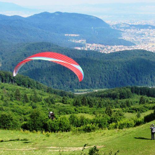 Paragliding in Bunloc