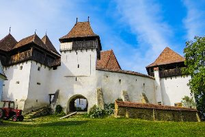 Fortified churches in the Transylvanian flatlands