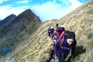 Hiking in Fagaras