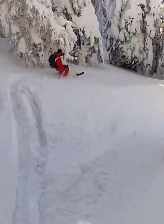Freetide skiing