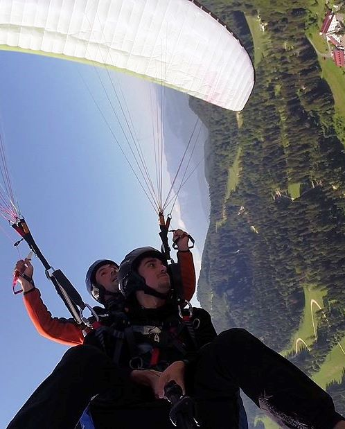 Flying adrenaline in Brasov Romania - Paragliding