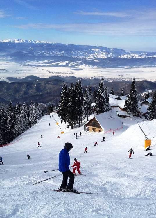 Postavaru ski slopes