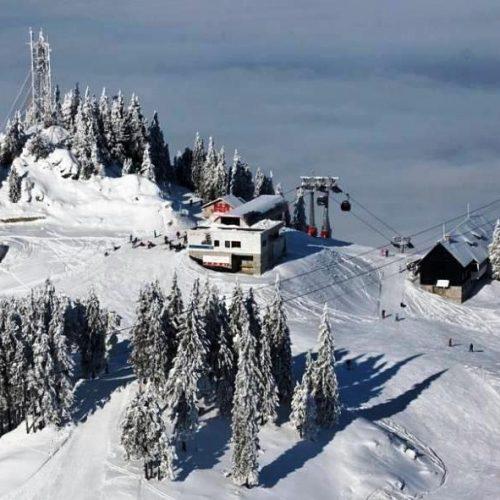 Ski slopes in Postavaru Poiana Brasov