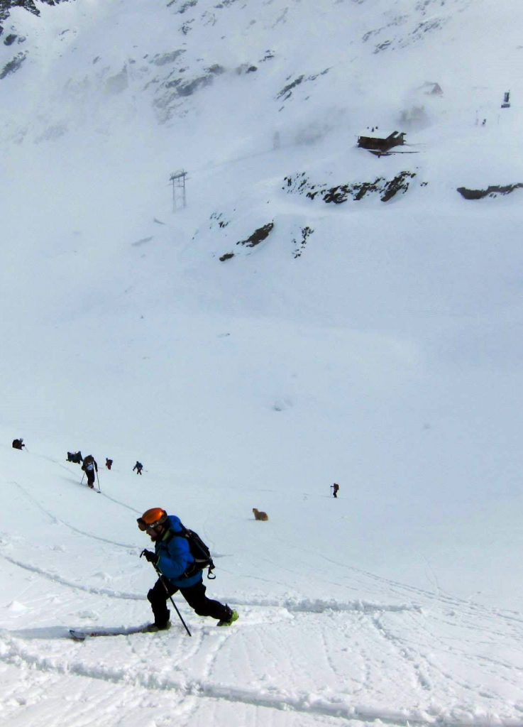 Balea Lac ski mountaineering